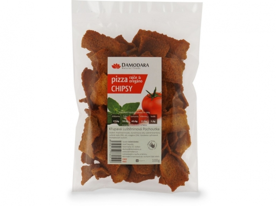 Pizza chipsy (paradajka oregano) 100g